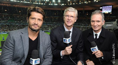 Football : TF1 se sépare de Arsène Wenger