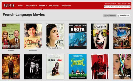 Que propose Netflix ?