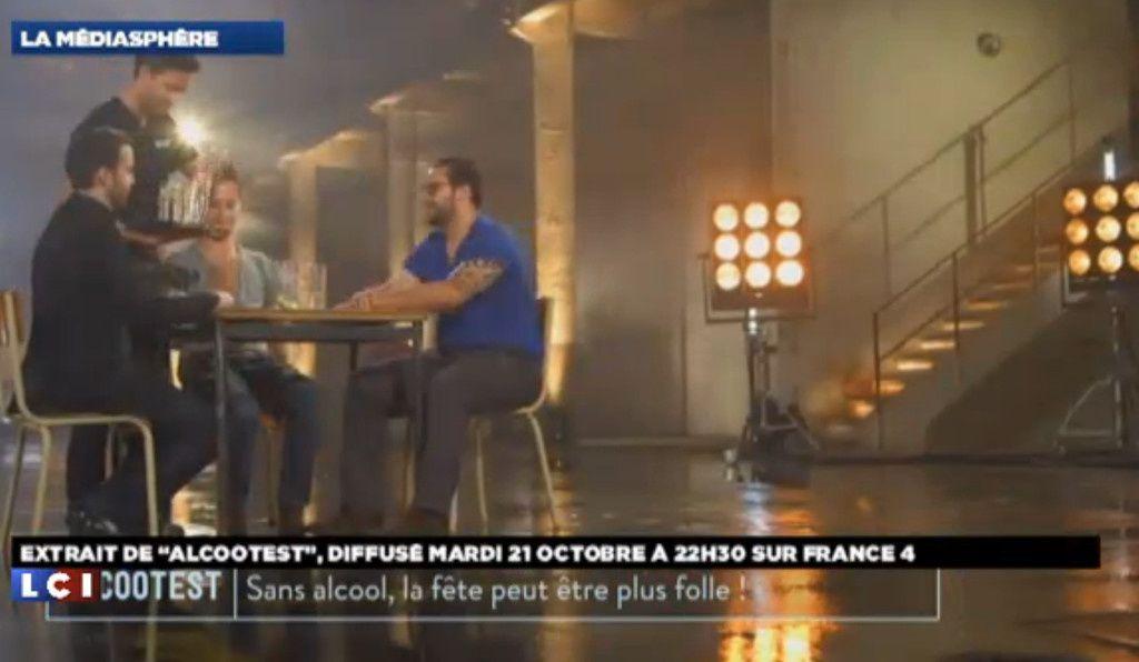 Alcootest : Découvrez les premières images de l'émission de France 4 (Vidéo)
