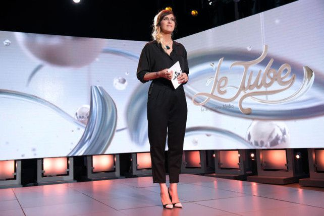 Le Tube : Arnaud Drucret invité de Daphné Burki samedi sur Canal+