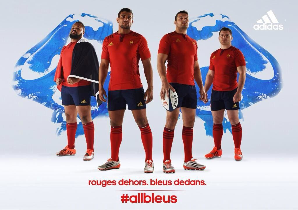 Tournoi des 6 Nations : Adidas fait renaître le maillot 100% rouge pour le XV de France