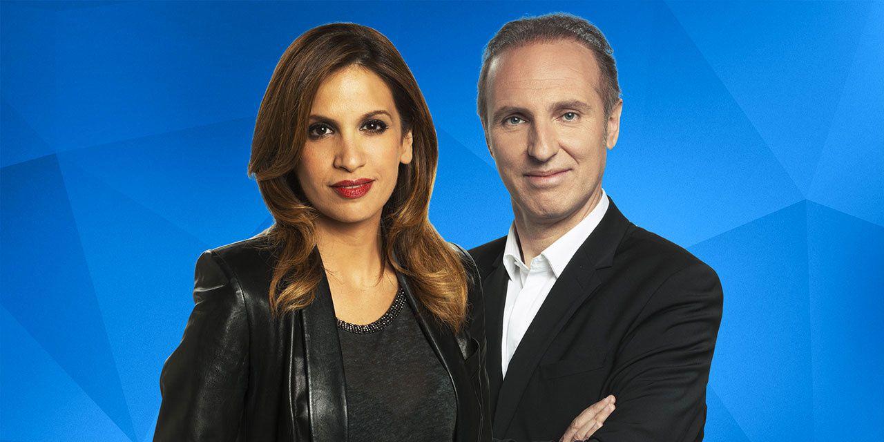 Sonia Mabrouk et Patrick Roger (Europe 1)