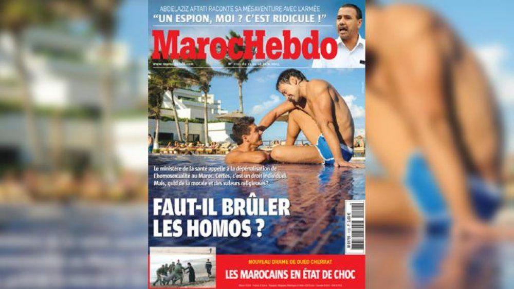 « Faut-il brûler les homos ? » : La une choquante de « Maroc Hebdo »