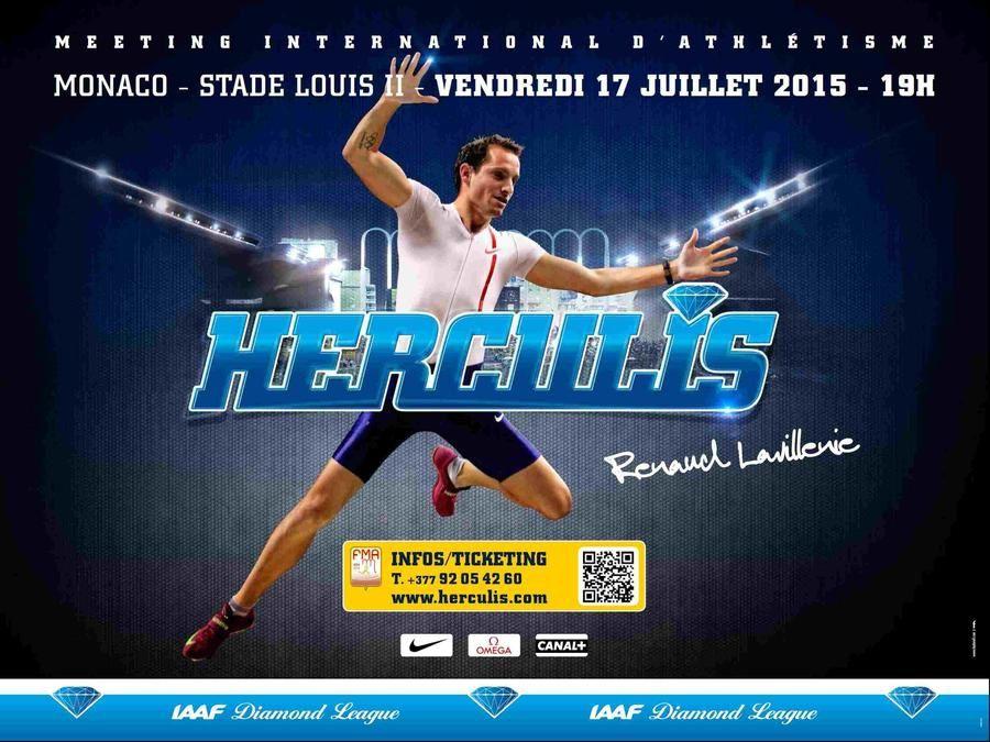 Meeting Herculis 2015 à Monaco