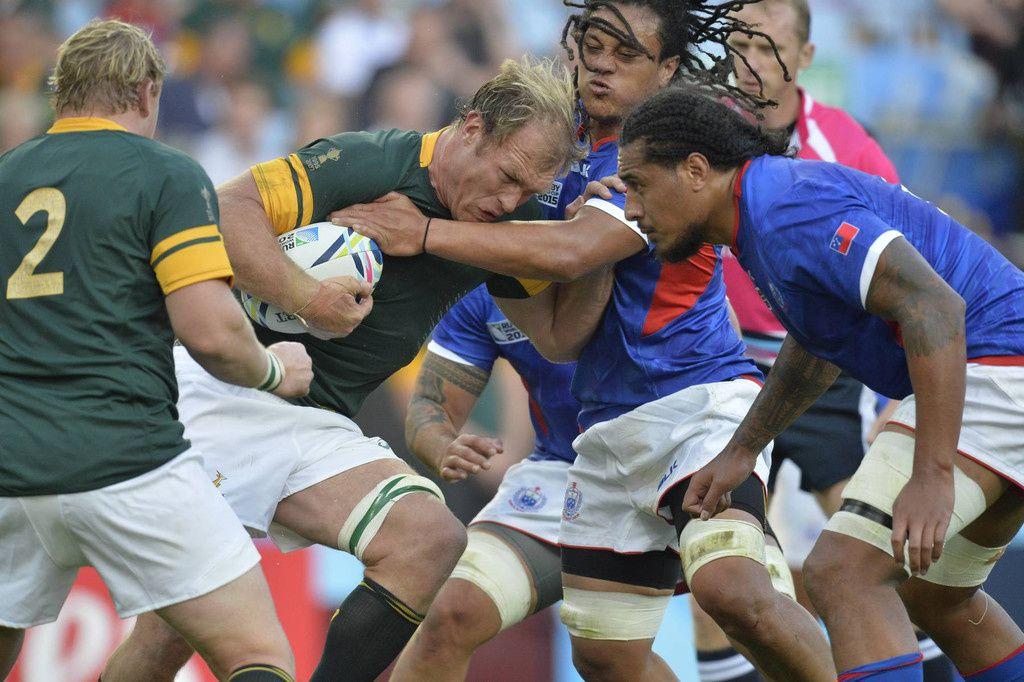 Afrique du Sud/Samoa - RWC 2015 (Presse Sport)