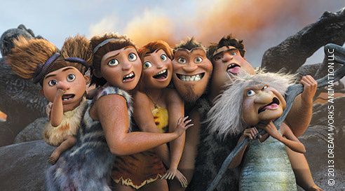 """""""Les Croods"""" (Dream Works)"""