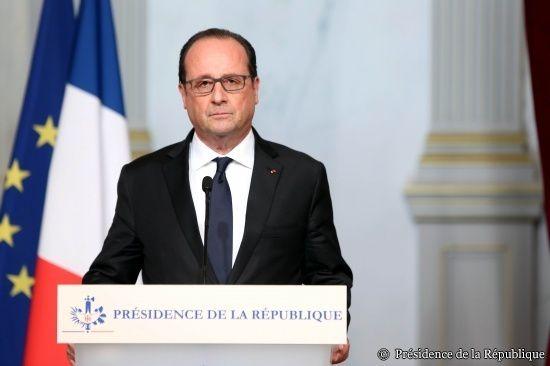Déclaration de François Hollande à la suite des attaques à Paris