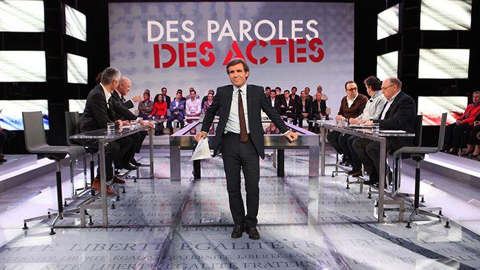 """""""Des Paroles et des Actes"""" (France 2)"""