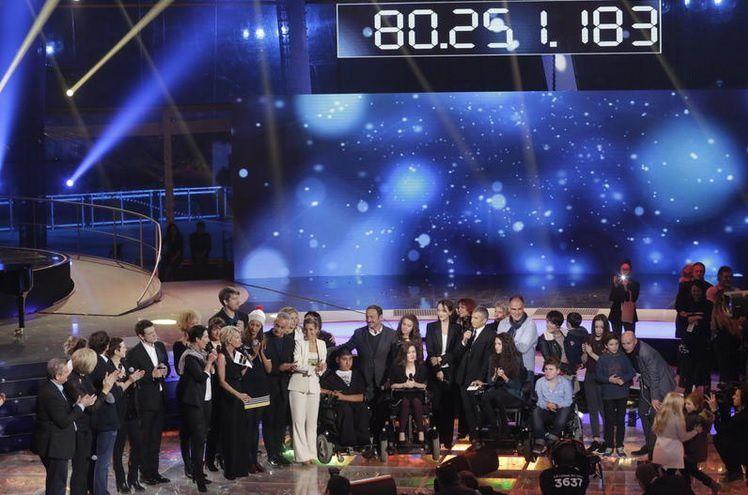 """""""Téléthon 2015"""" (© CHRISTOPHE RUSSEIL/FTV)"""