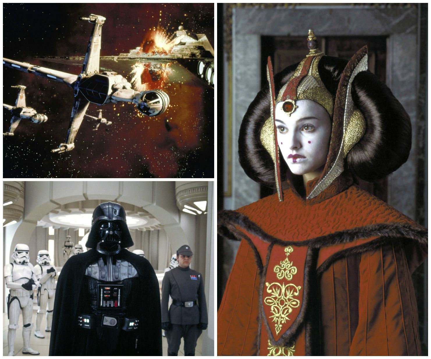 © 1980 Lucasfilm Ltd. All rights reserved - © 1983 Lucasfilm Ltd. All rights reserved - © 1999 Lucasfilm Ltd. All rights reserved.