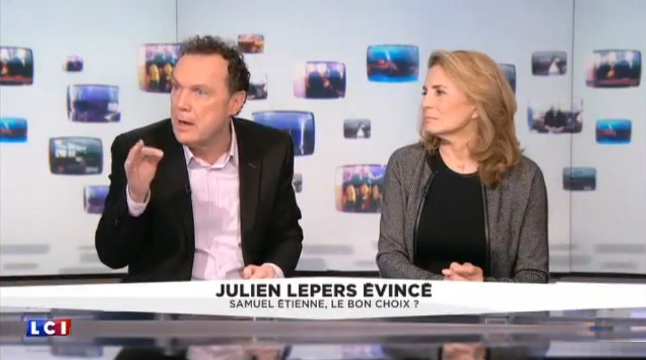 Julien Lepers (Capture d'écran)