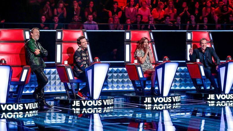"""The Voice"" (© Yann Dejardin / Shine France / TF1 / Bureau 233)"