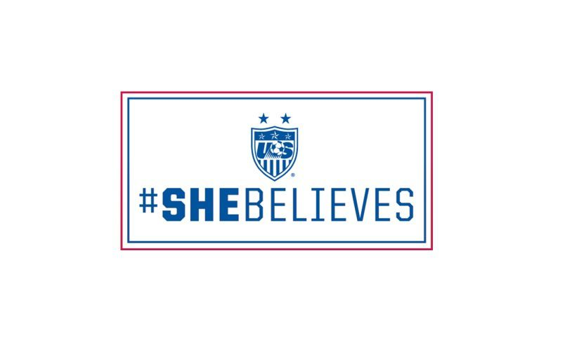 """""""SHE BELIEVES CUP"""" (DR)"""