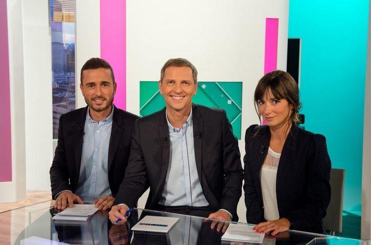 """""""Médias, le mag"""" (© Christophe Fillieule/La Fabrik pour FTV)"""