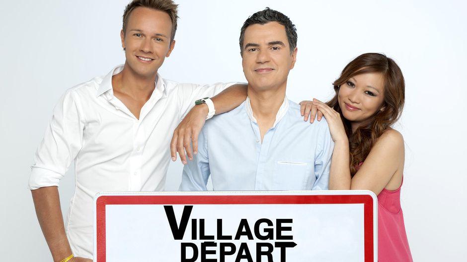 """""""Village Départ"""" (© BARBEREAU Bernard / FTV)"""