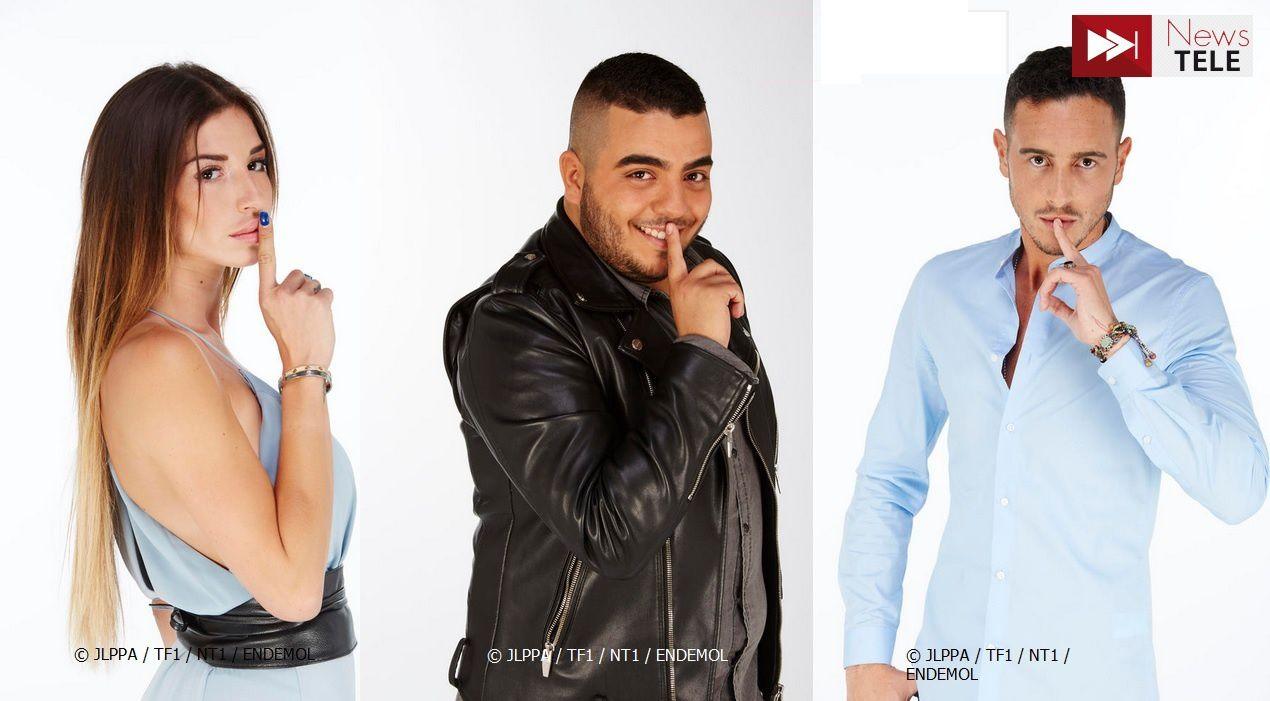 """Secret Story - saison 10 - Liam, Alexandreet Jaja"" (© JLPPA / TF1 / NT1 / ENDEMOL) - Montage : Newstele.com"