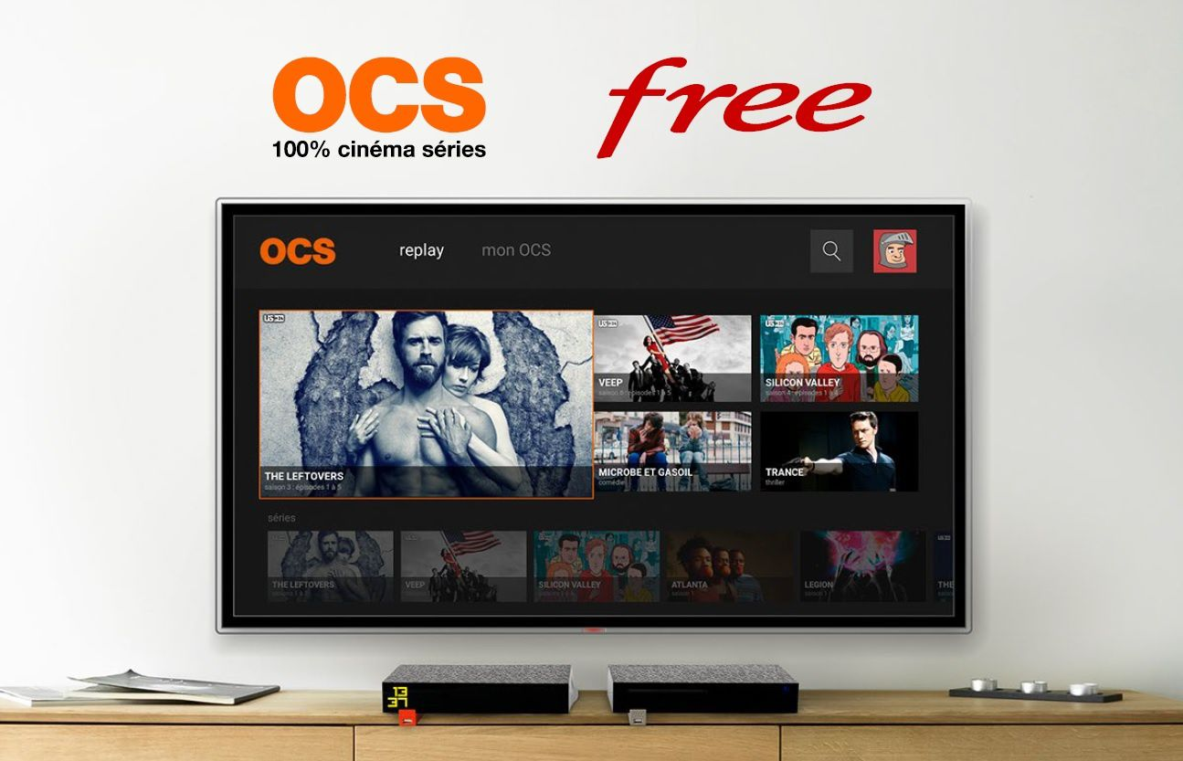 L'application OCS GO arrive chez Free