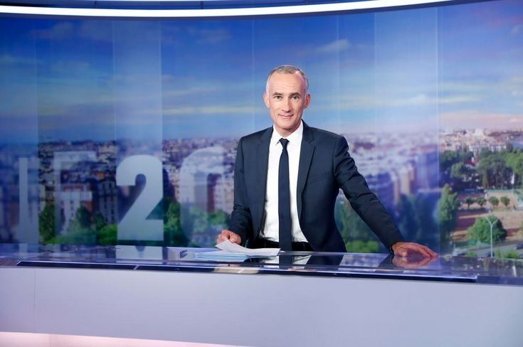 Gilles Bouleau (TF1/ GILLES GUSTINE)