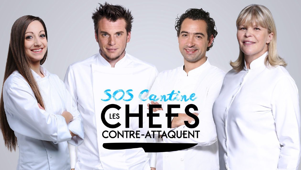 """SOS cantine : Les chefs contre-attaquent"" (© Pierre Olivier/M6)"