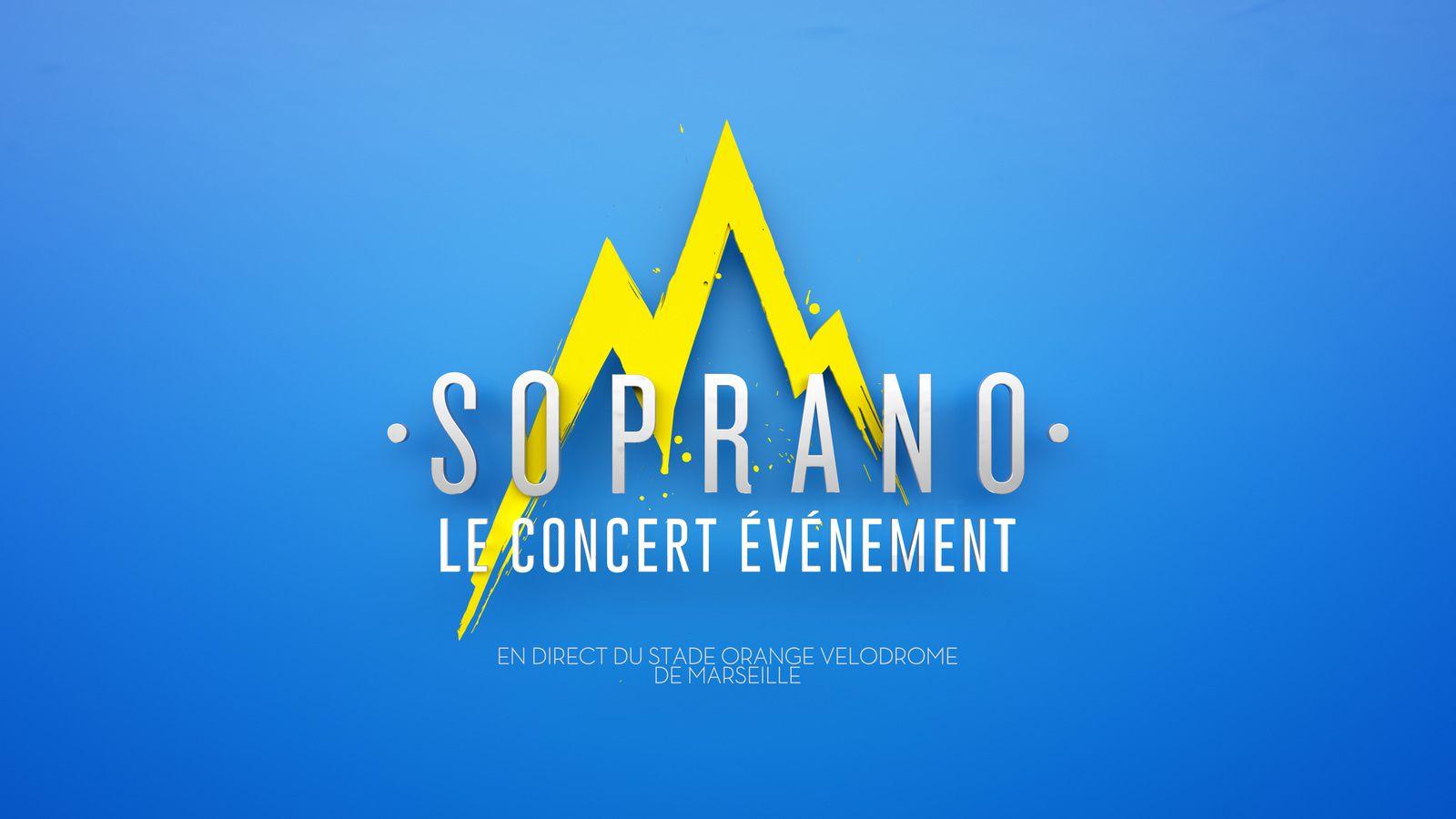TMC diffuse le concert de Soprano en direct de Marseille ce samedi soir