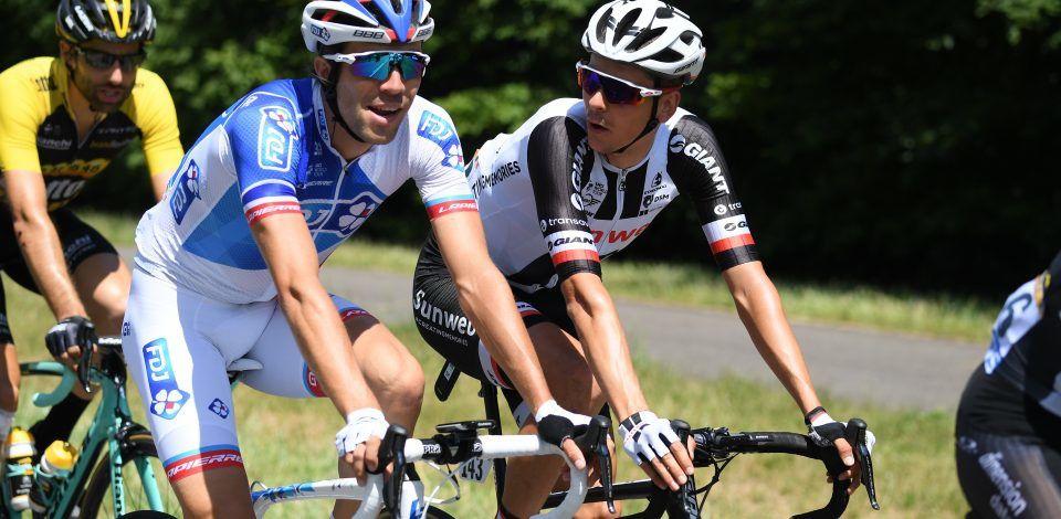 """""""Le cyclisme italien s'invite sur la chaine L'Équipe"""" (© Mantey / L'Équipe)"""