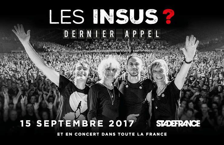 Diffusion du Concert des Insus au Stade de France le mercredi 8 novembre sur Canal+