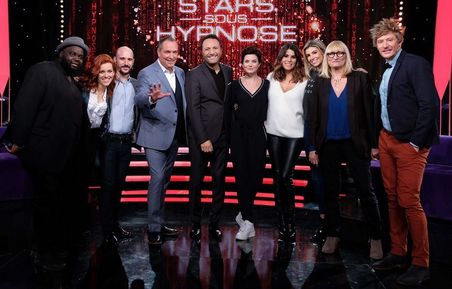 """""""Stars sous hypnose"""" (© Gilles Gustine / TF1)"""