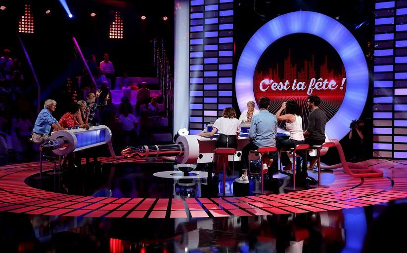 """Le Grand Blind Test"" (© David Merle / TF1)"
