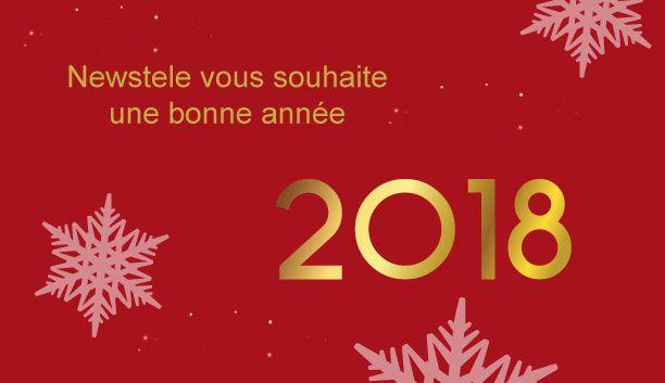 Newstele vous souhaite une bonne année 2018