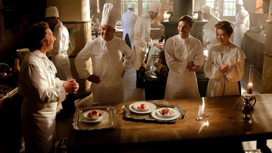 """""""La Fabuleuse Histoire du restaurant"""" (© Gilles Gustine/FTV)"""