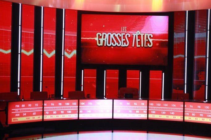 """""""Les Grosses Têtes"""" (© Schousboe Charlotte/FTV)"""