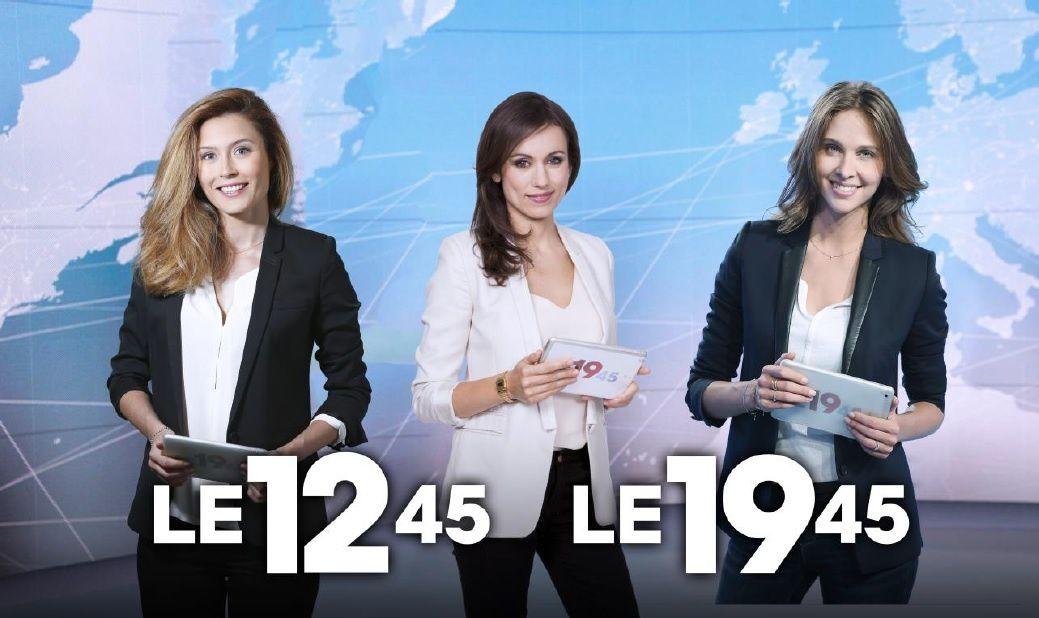 Diane Douzillé, Ophélie Meunier et Marie-Ange Casalta (© Lou Breton / Pierre Ollivier / M6)