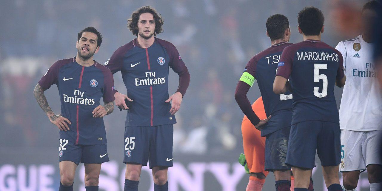 PSG/Real (© Franck Fife/AFP)