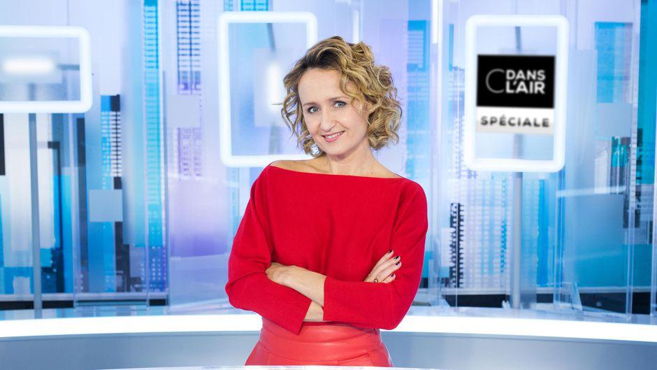 """C dans l'air"" (© Delphine Ghossarosian / FTV / SI)"