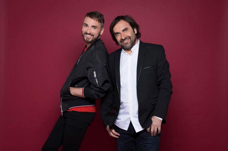 Christophe Willem et André Manoukian (© GUYON Nathalie/FTV)