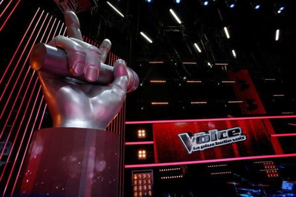 """""""The Voice"""" (© TF1)"""
