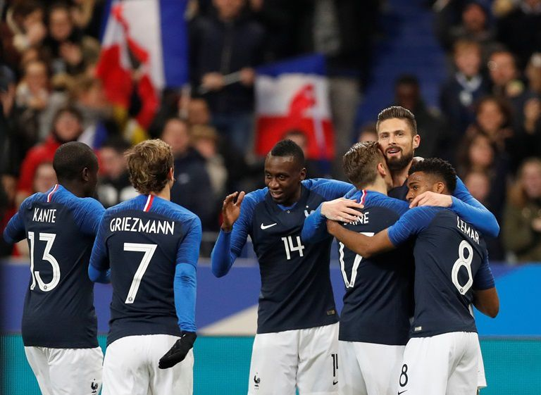 Equipe de France de football (© Reuters)