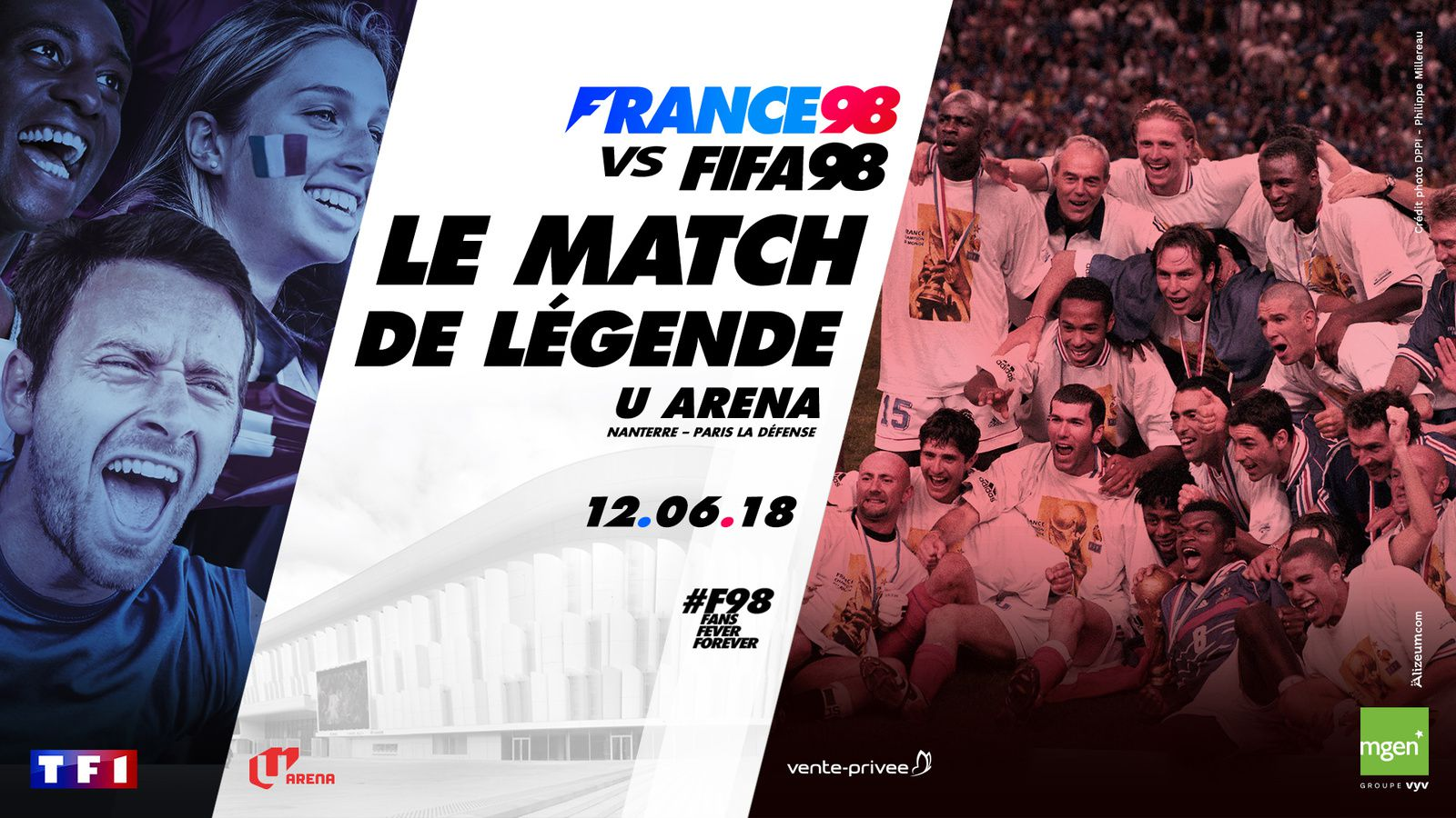 FRANCE 98 vs FIFA 98 - Match de légende, ce soir à 21h en direct sur TF1