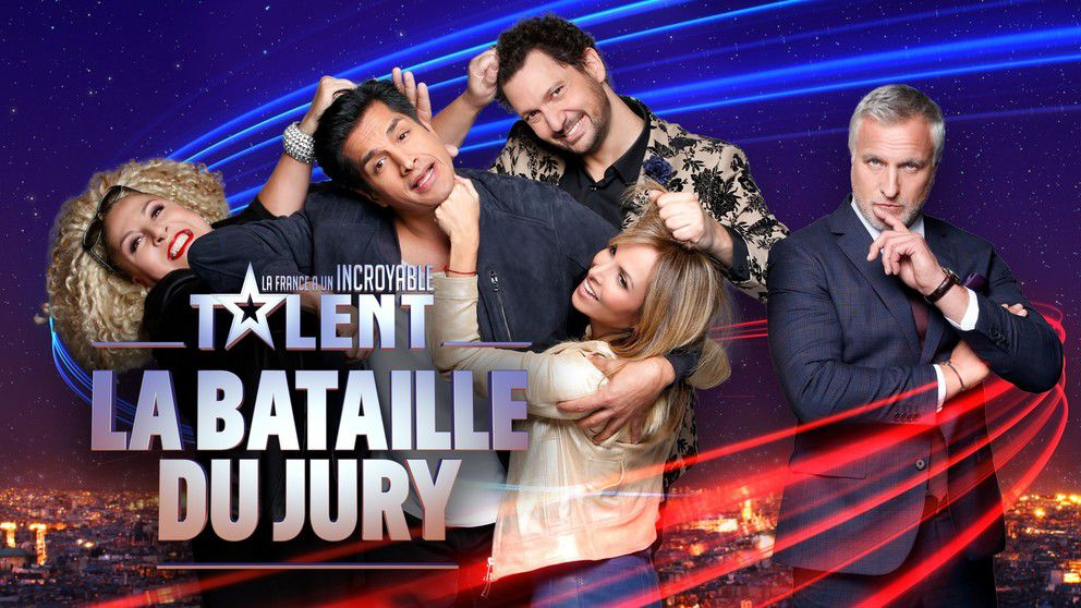 """La France a un Incroyable Talent : la bataille du jury"" (© Pierre Olivier / M6)"