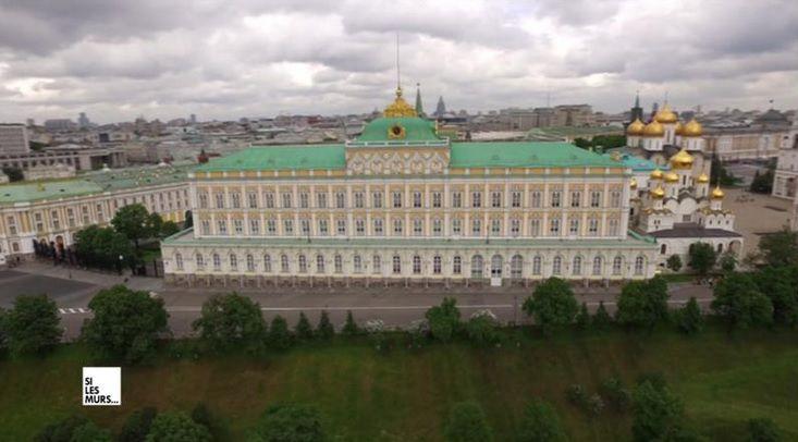 """""""Si les murs du Kremlin pouvaient parler"""" (© SEP)"""