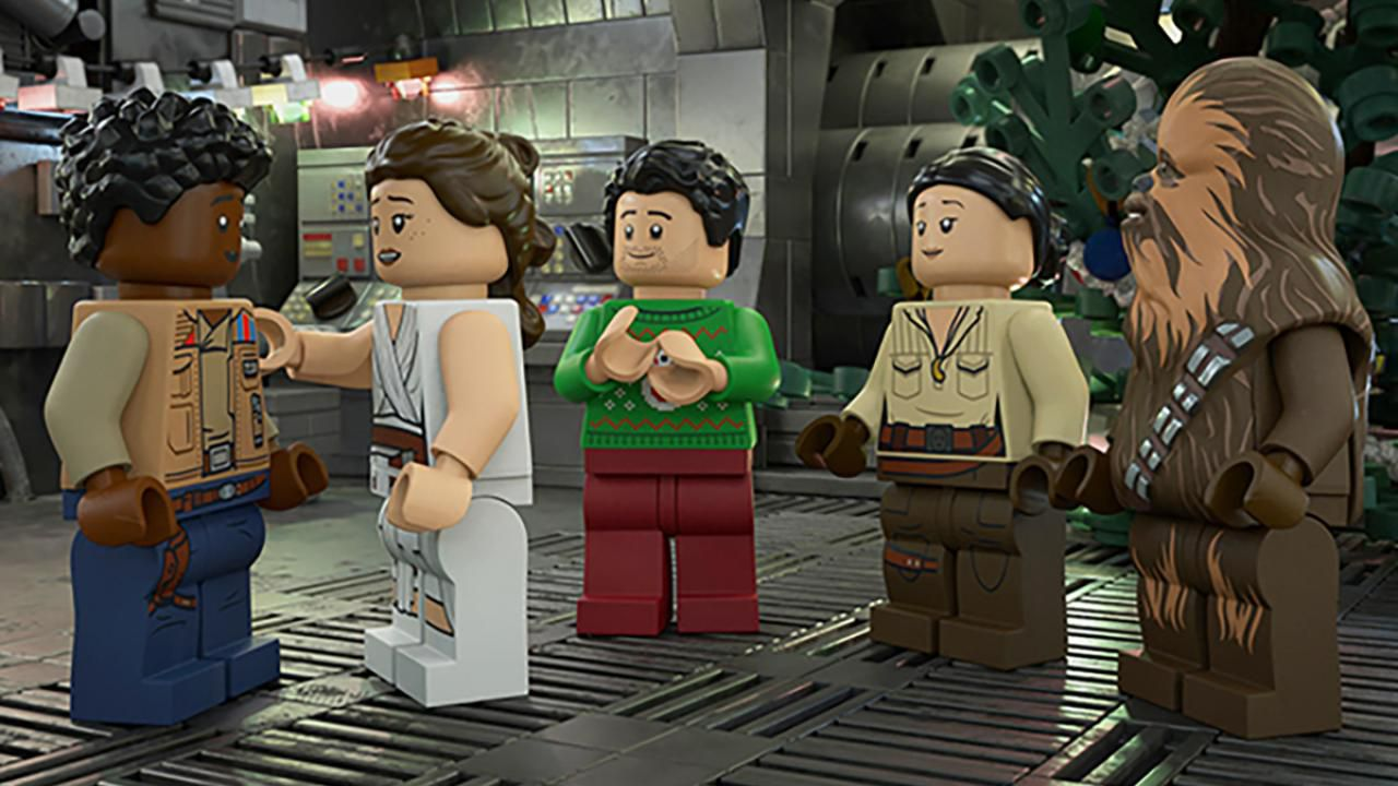 """The LEGO Star Wars Holiday Special"" (© Disney Plus)"
