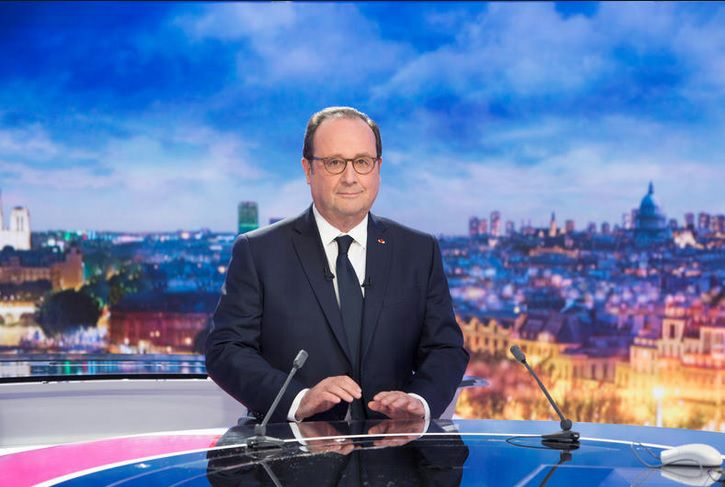 François Hollande (© Delphine Ghosarossian/FTV)