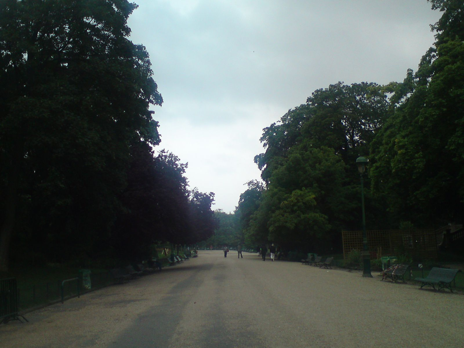 Parc Monceau le 29 juillembre