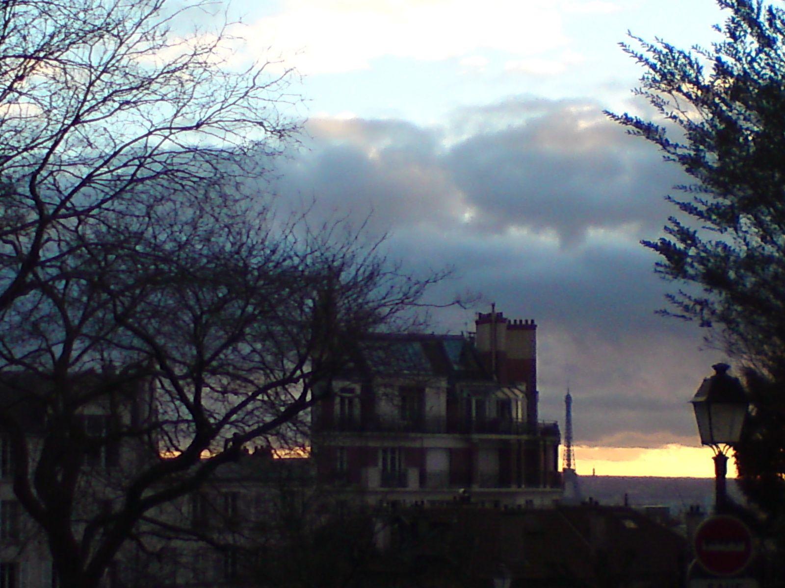 Balade fin janvier à Montmartre