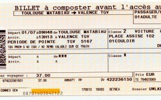 Que signifie votre rêve ? Billet d'avion ou train