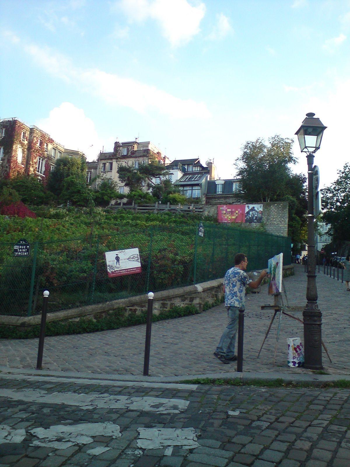 Montmartre, rue des Saules