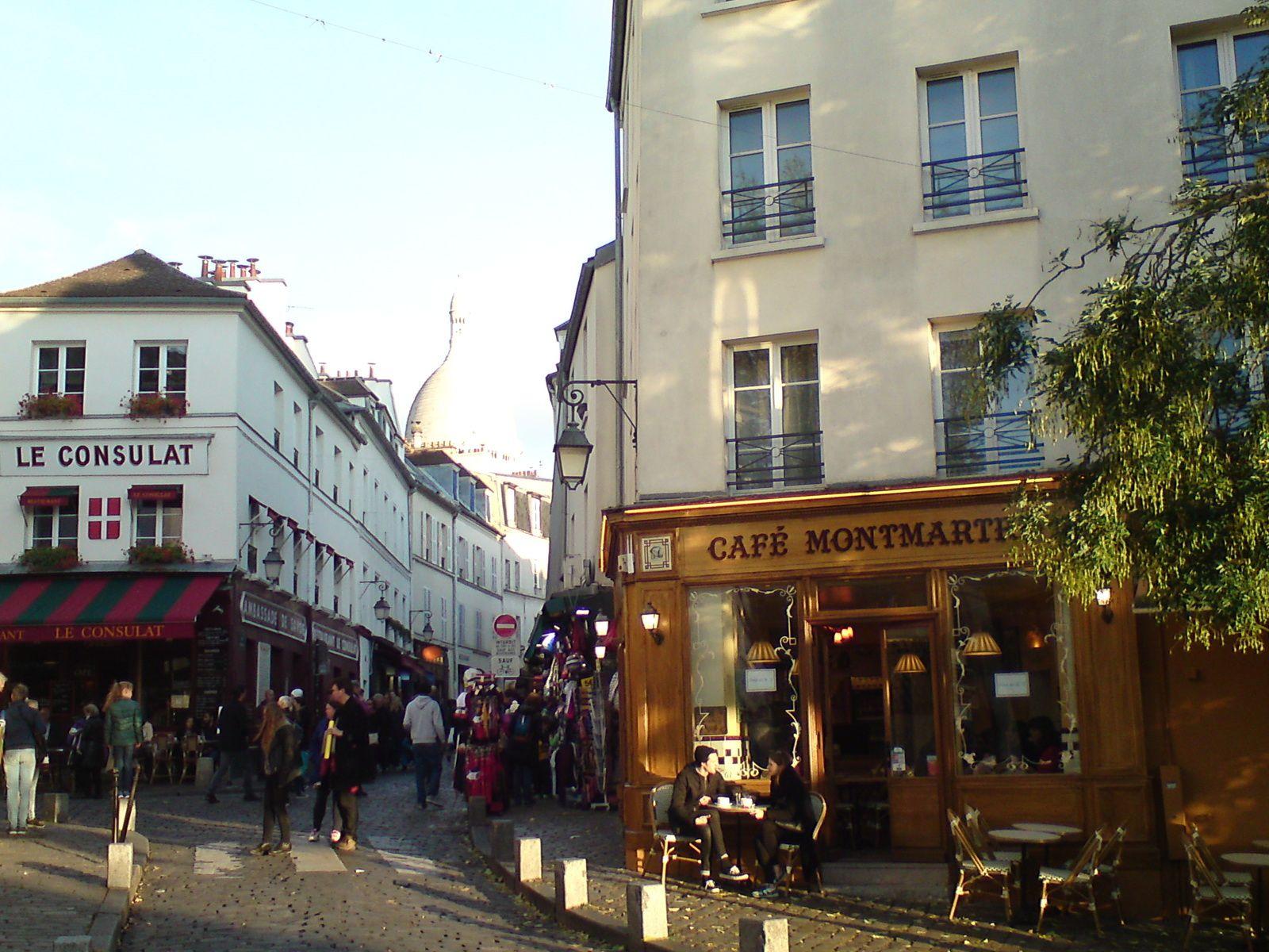 Des souvenirs de Montmartre chinois !