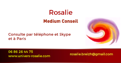 Rosalie medium conseil consultations à distance