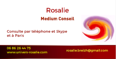 Rosalie medium consultations à distance