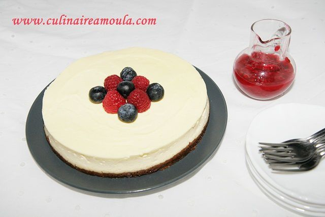 Cheesecake comme à New York
